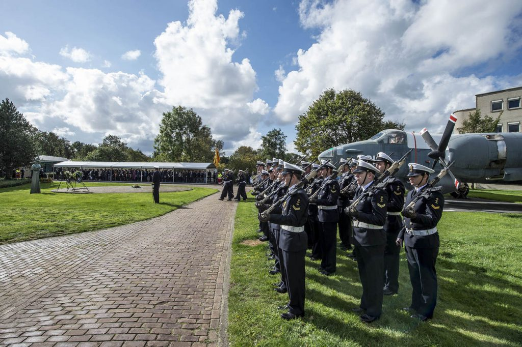 Den Helder, Vliegveld De Kooij Herdenkings ceremonie 100 jaar MLD