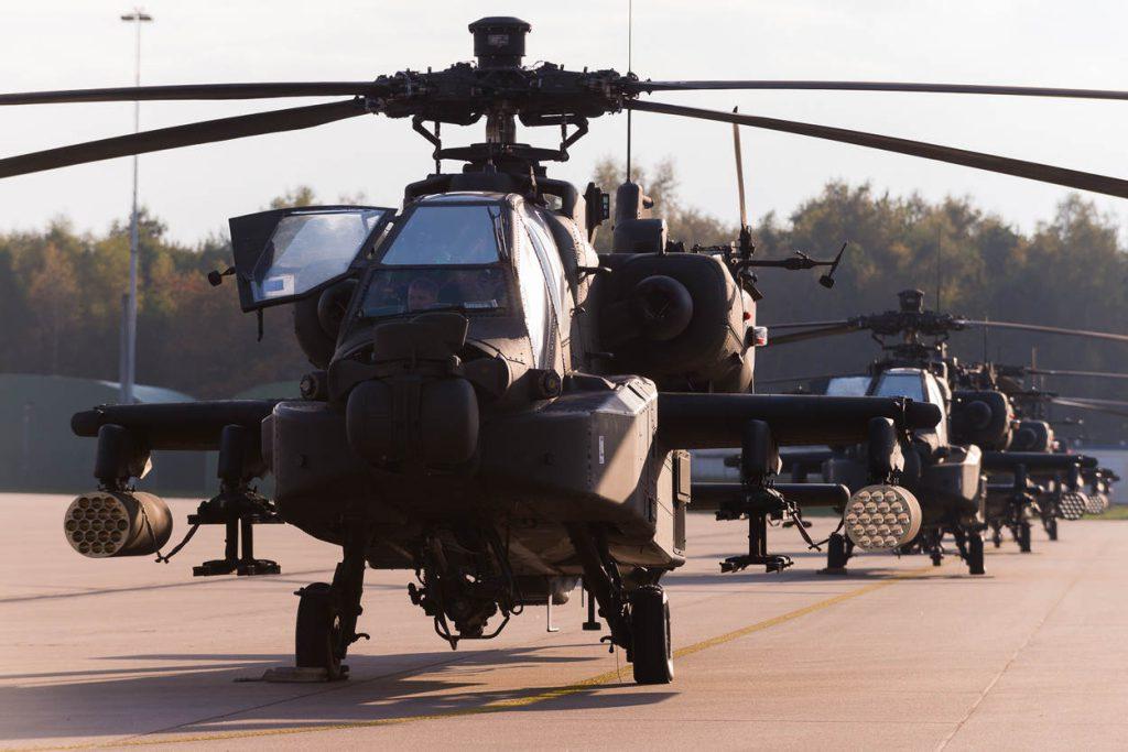 Eindhoven, 23 oktober 2017. Defensie ondersteunt grote Amerikaanse troepenverplaatsing.