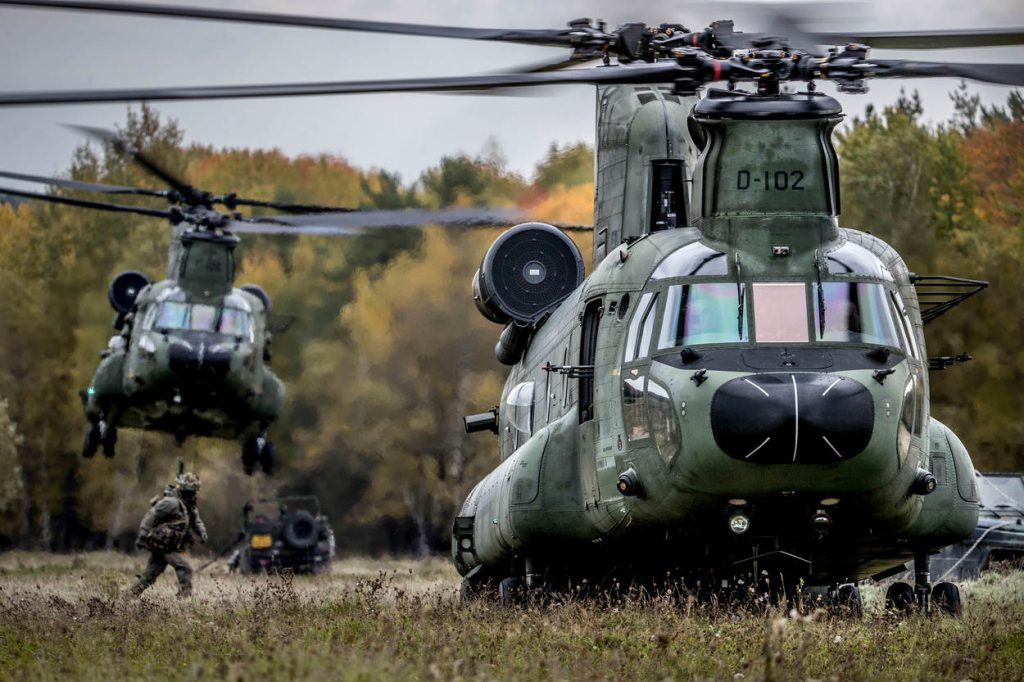 Hohenfels Duitsland, 6 oktober 2017 Internationale luchtmacht NAVO oefening Swift Response