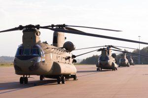 Defensie ondersteunt grote Amerikaanse troepenverplaatsing.
