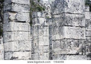 Tempel van de Jaguar Warriors Chichen Itza