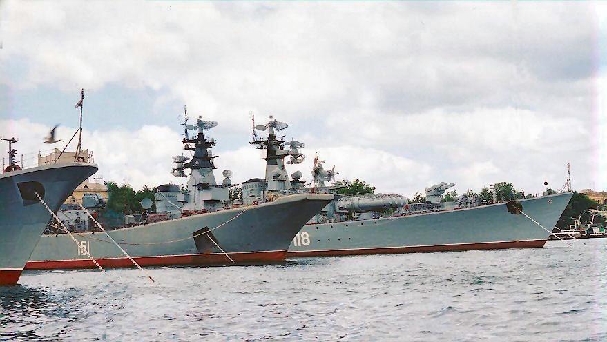 Russische oorlogsschepen