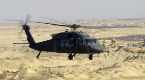 A US Army (USA) UH-60L Black hawk Helicopter