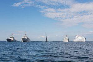 NL schepen tijdens oefening Baltic Operations in de Oostzee_Noventas by MinDef