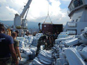 Ondersteuningsschip Zr. Ms. Pelikaan Haiti_Noventas by MinDef.