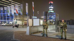 11 Luchtmobiel en Politie oefenen samen in Amsterdam na aanslag