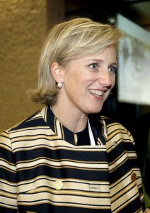 2007-11-26 16:35:08 epa01183308 Princess Astrid of Belgium, President of the Red Cross Belgium, arrives for the opening ceremony of the 30th International Conference of the Red Cross and Red Crescent Movement at the International Conference Centre Geneva (CICG) in Geneva, Switzerland, 26 November 2007. Around 1,500 representatives of the Movement, the States party to the Geneva Conventions and international organisations are taking part in the five-day event, which will set the Movement's humanitarian agenda for the next four years.  EPA/SALVATORE DI NOLFI
