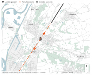 plattegrond incident